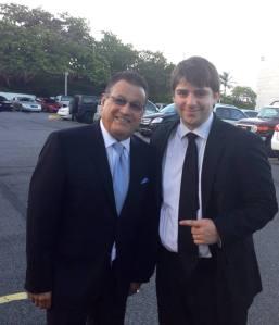 Marco Jiménez y Ismael Miranda