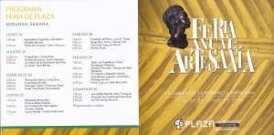 Feria de Artezanos PLaza2013