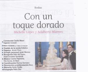Michelle López y Adalberto Marrero
