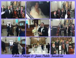 Edna Ortega, Juan Sanabria