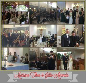 Mariana Thon y Julio Acevedo