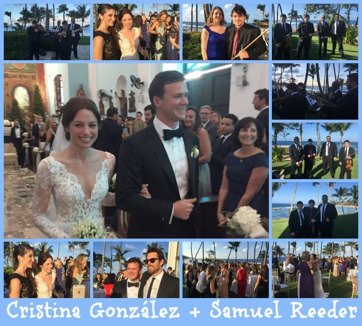 Cristina y Samuel